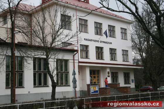 Budova Gymnázia ve Vsetíně