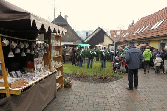 3d8c7122f67 Adventní trh v podnikatelském centru foto  archiv města Valašské Klobouky